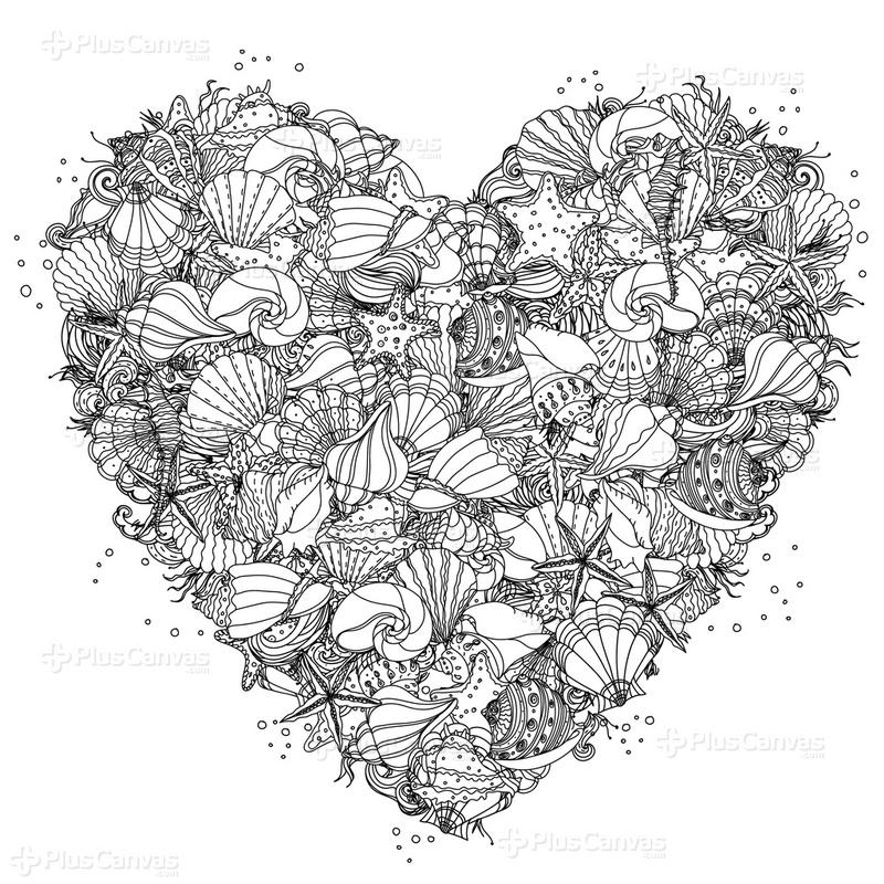 Kalpli Boyama Tablo Burada Pluscanvas