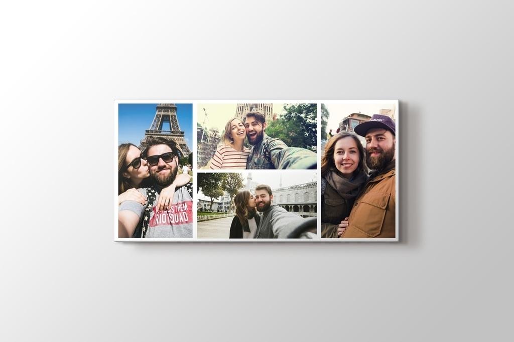4 fotoğraftan panorama kolaj tablo görseli.