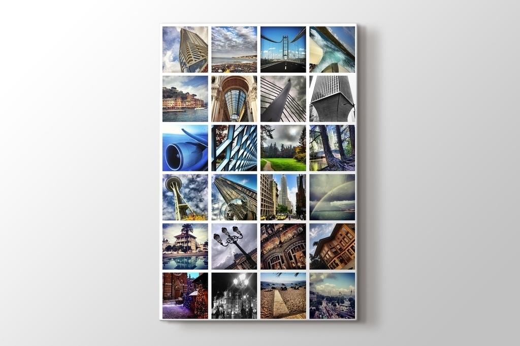 24 fotoğraftan dikey mozaik tablo görseli.