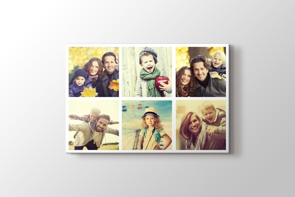 6 fotoğraftan yatay mozaik tablo görseli.
