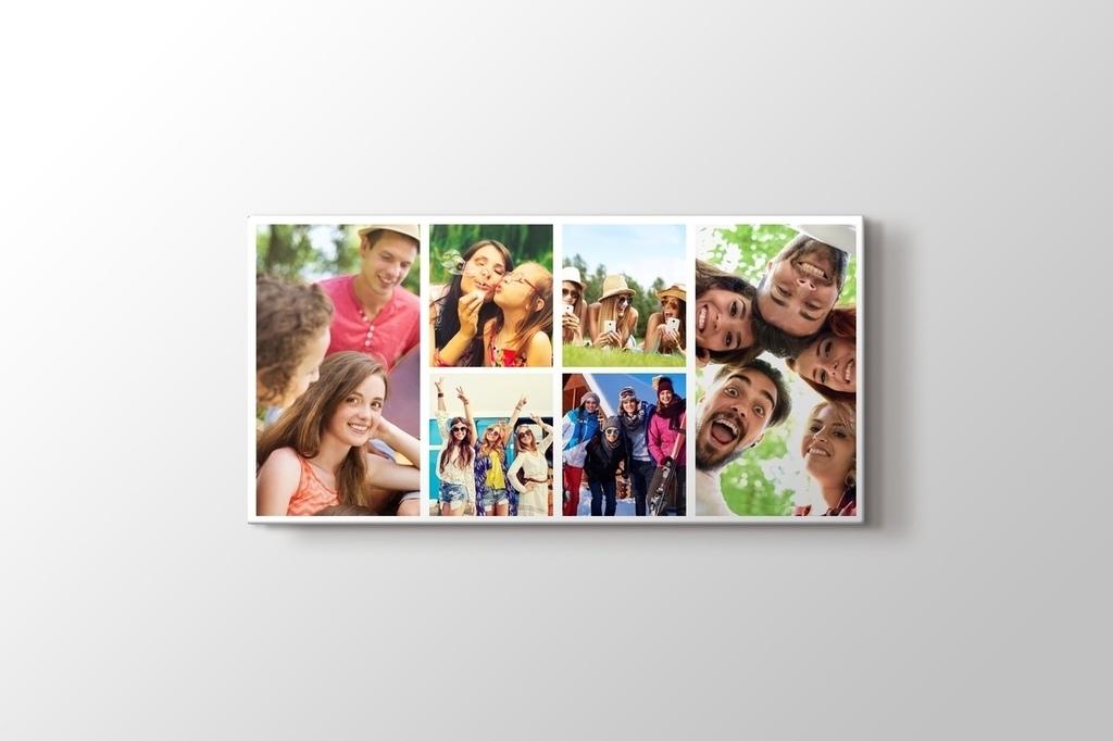 6 fotoğraftan panorama kolaj tablo görseli.