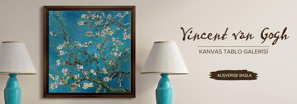 Vincent van Gogh kanvas tablo modelleri