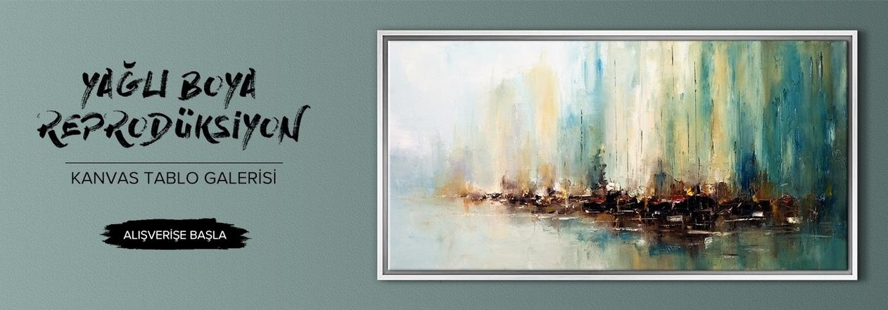 Yağlı boya reprodüksiyon kanvas tablolar