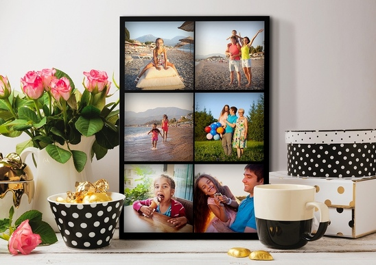 Photo Mosaic Canvas Prints