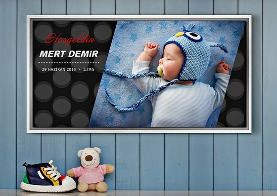 Canvas Prints for Kids and Babies