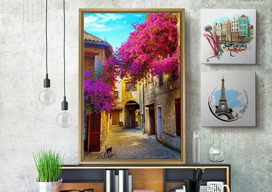 Cityscape Canvas Prints