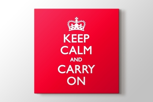 Keep Calm and Carry On görseli.