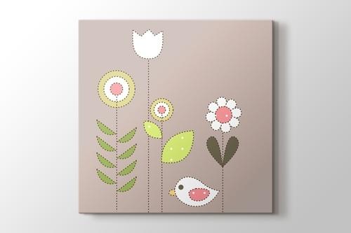 Bird and Flowers görseli.