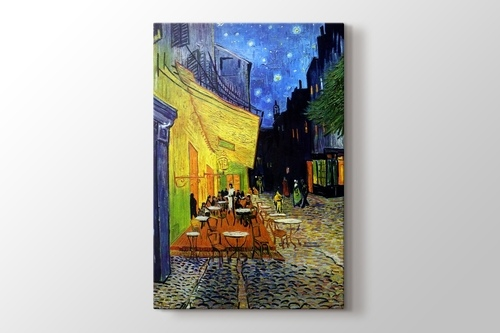 Terrasse de Cafe de Nuit görseli.