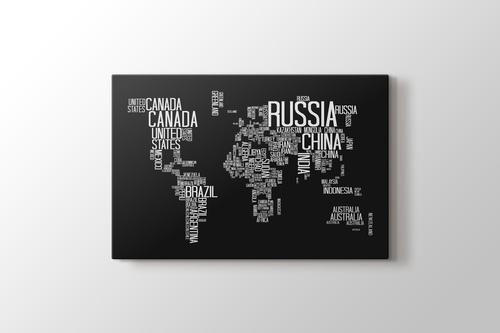 Dünya Haritası görseli.