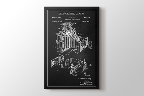 Photographic Camera Patent görseli.