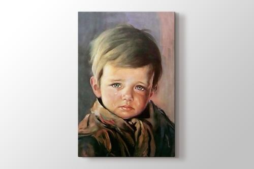 Ağlayan Çocuk görseli.