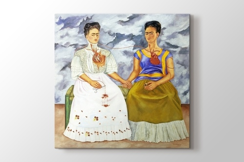 Two Fridas 1939 görseli.