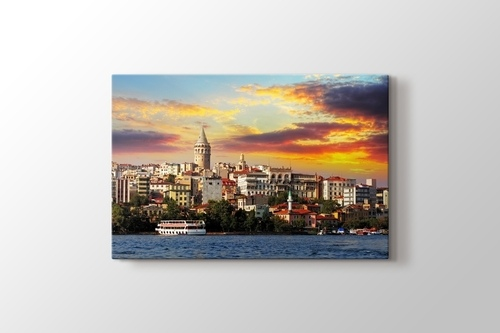 Günbatımı İstanbul görseli.