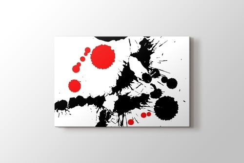 Siyah ve Kırmızı Lekeler görseli.