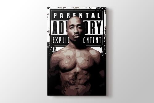 Tupac görseli.