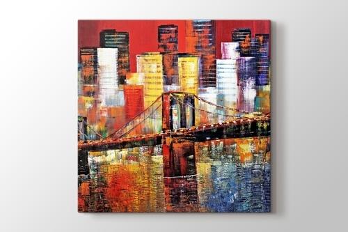 Brooklyn Bridge New York görseli.