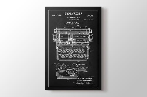 Typewriter Patent görseli.