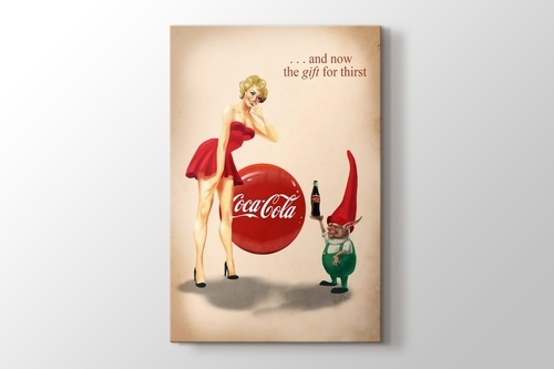 Coca Cola - The Gift for Thirst görseli.