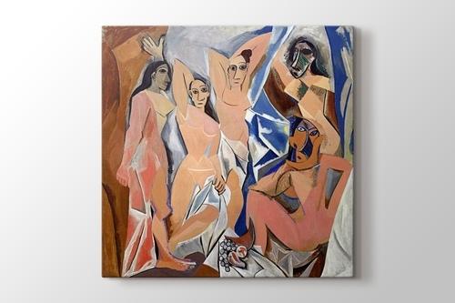 Les Demoiselles d'Avignon görseli.