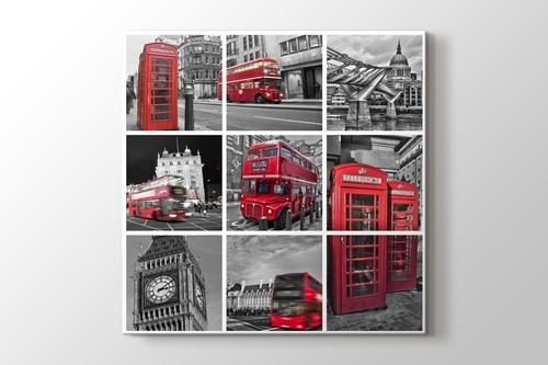 Londra Kolaj görseli.