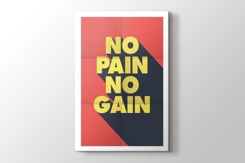 No Pain No Gain görseli.