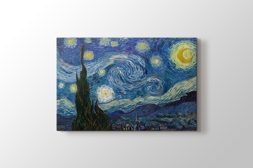 Starry Night 1889 görseli.