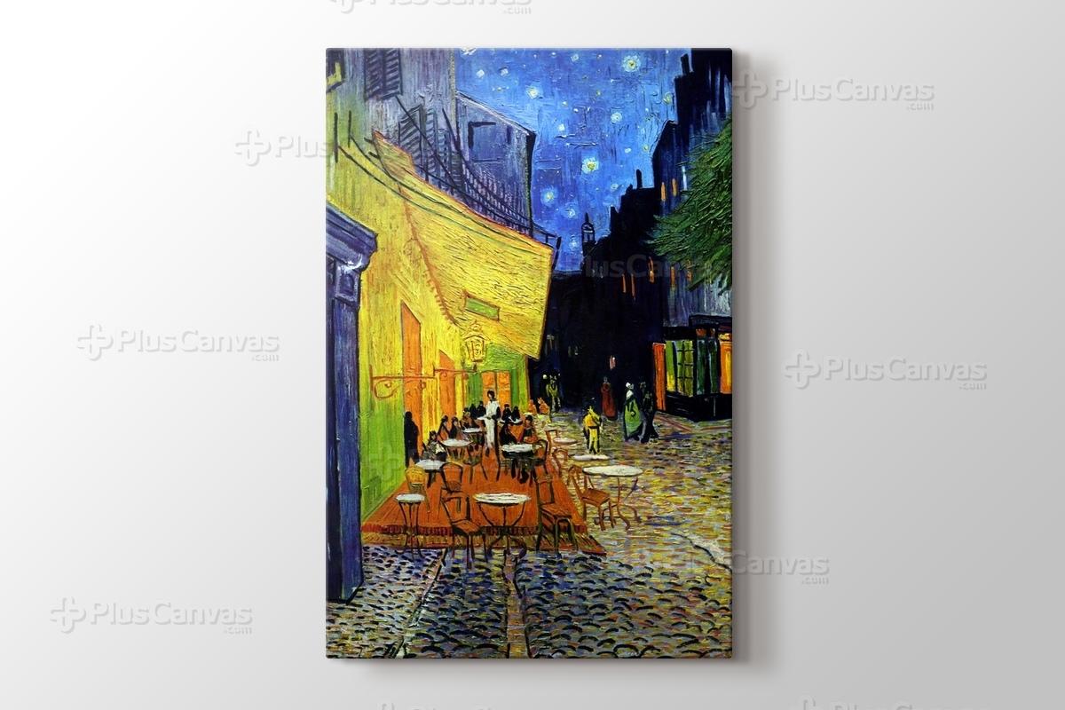 Terrasse  Terrasse De Cafe De Nuit Vincent Van Gogh Kanvas Tablo Burada ...