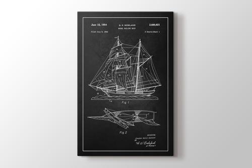 Sailing Ship Patent görseli.
