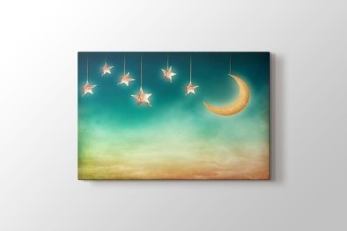 Ay ve Yıldızlar görseli.