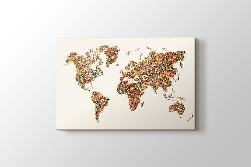 World Map Triangle görseli.