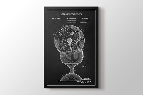 Astronomical Clock Patent görseli.
