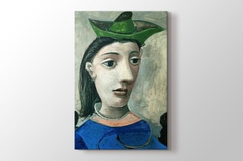 Donna Con Capello Verde görseli.