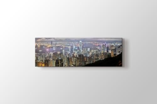 Hong Kong - Night Panorama görseli.