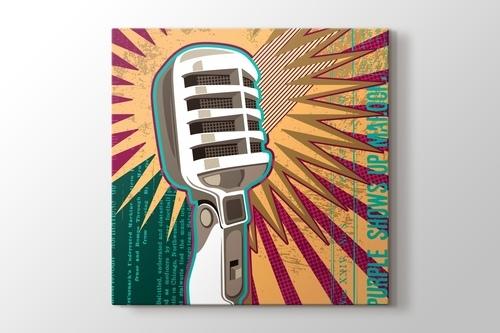 Mikrofon görseli.