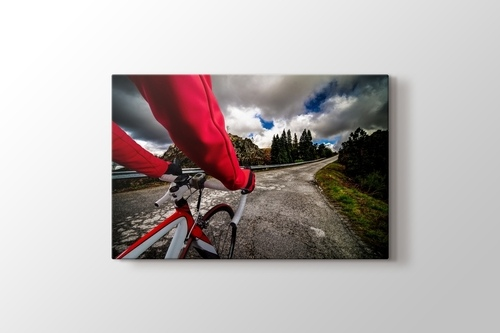 Bisikletle Tepe Tırmanışı görseli.