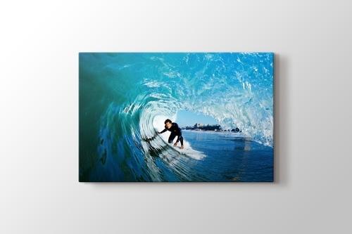 Okyanus Dalgası içinde Sörfçü görseli.