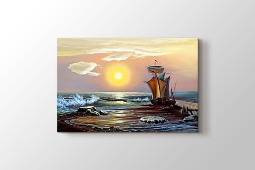 Sun and the Boat görseli.