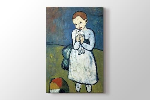 Child with a Dove görseli.