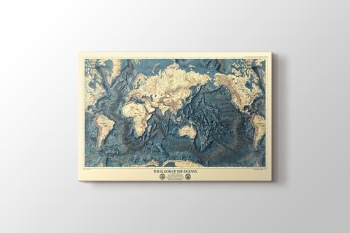 Okyanus Zemini Haritası görseli.