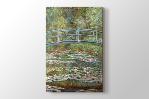 Water Lily Pond and Bridge görseli.