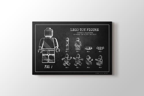 Lego Toy Figure Patent görseli.