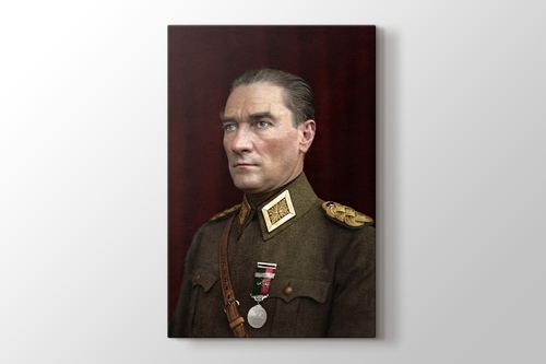 Mustafa Kemal Atatürk görseli.
