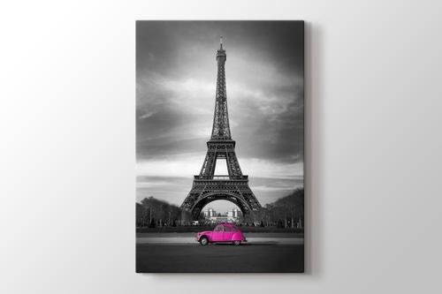 Eiffel Pink Car görseli.