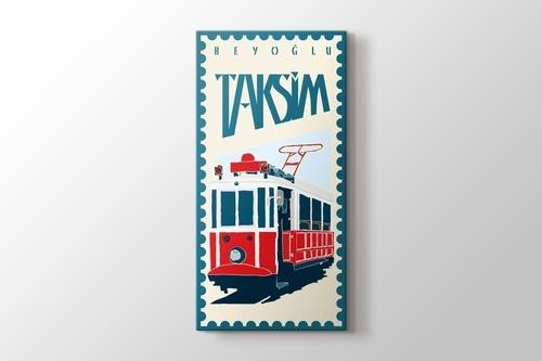 İstanbul Taksim Tramvay görseli.