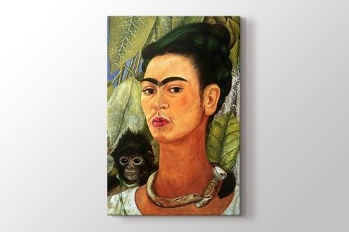 Self Portrait with Monkey 1938 görseli.