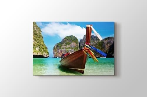 Phuket - Boat on the Lake görseli.