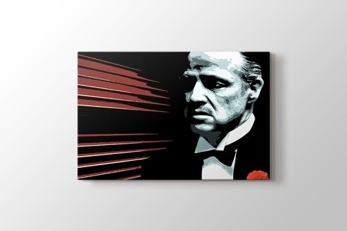 The Godfather - Marlon Brando görseli.