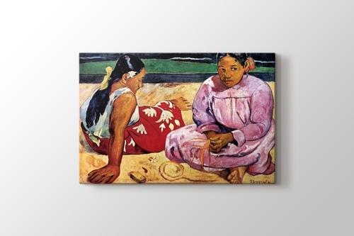 Tahitian Women on the Beach görseli.