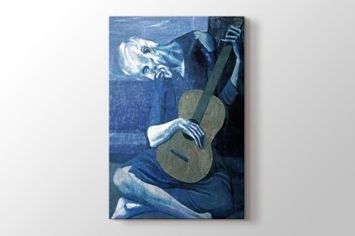The Old Guitarist 1903 görseli.